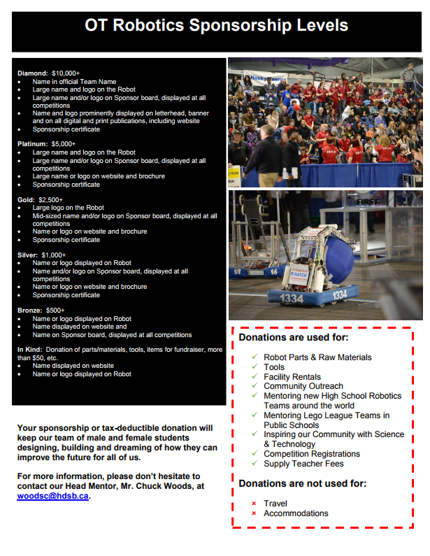 Robotics Sponsorship One Pager Page 2